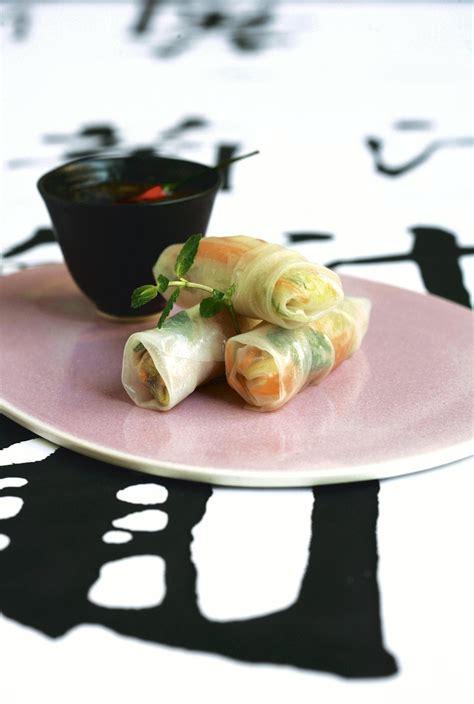 recette cuisine printemps recette mini rouleaux de printemps cuisine madame figaro