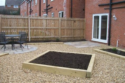 Back Garden Patio by Garden Landscaping Project In Offerton Patios And Raised