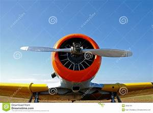 Nose Of Airplane Stock Image