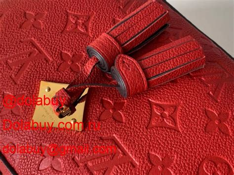 top quality louis vuitton monogram saintonge  red shoulder bag  red