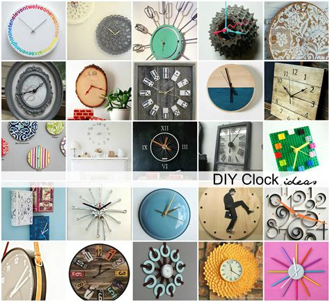diy clock ideas the idea room