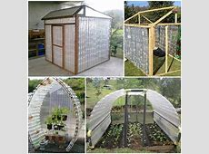 Greenhouse On The Cheap Using Plastic Bottles DIY Cozy Home