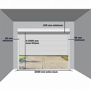 porte de garage enroulable motorise agathe gris castorama With porte de garage enroulable castorama