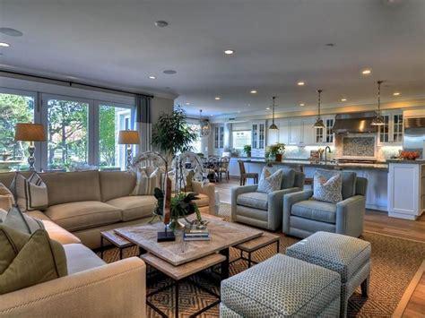 Large Living Room Furniture Arrangements by 24 Large Open Concept Living Room Designs Home Decor