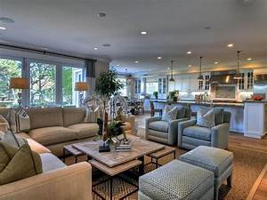 24 large open concept living room designs open concept With arranging living room with open floor plans