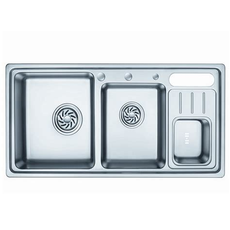 stainless steel kitchen sinks south africa three bowls sink kitchen op ps9217 tc best sold in south 9406