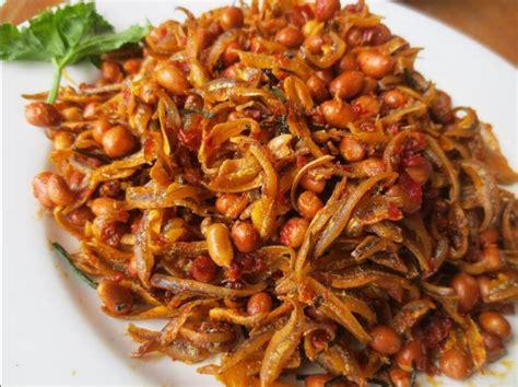 resep teri kacang bumbu balado garing  gurih resep