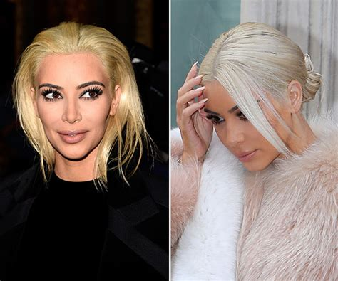 Pic Kim Kardashians White Hair After Platinum Blonde