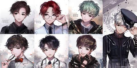 Kpop Anime Wallpaper - bts k pop zerochan anime image board