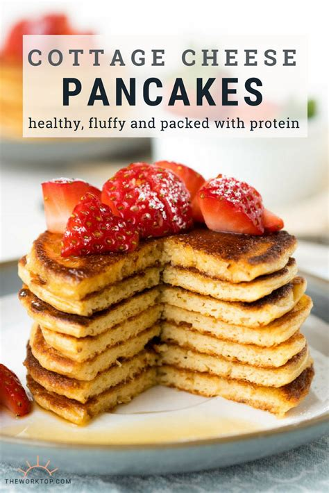 Cottage Cheese Recipes Healthy by Simple Cottage Cheese Pancakes With Oats Gf Fluffy