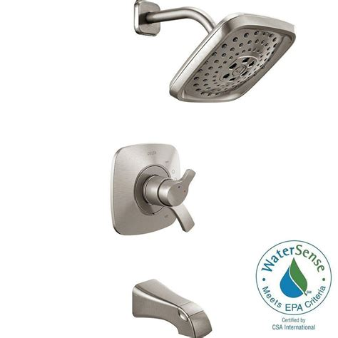 Delta Dryden Faucet Home Depot by Delta Windemere 1 Handle Tub And Shower Faucet Trim Kit In
