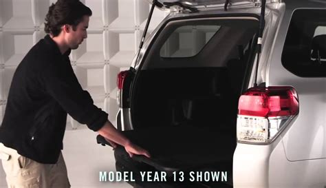 2014 Toyota 4runner Sliding Rear Cargo Deck by 4runner How To Sliding Rear Cargo Deck 2014 4runner