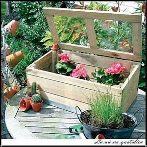 Mini Serre De Balcon : serre en bois pour semis mini serre pour balcon pas cher ~ Premium-room.com Idées de Décoration