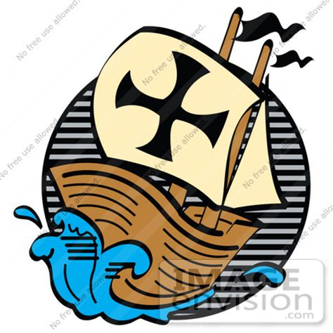 Cartoon Mayflower Boat by Pilgrim Clipart Boat Pencil And In Color Pilgrim Clipart