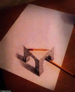 Easy 3D Drawings On Paper