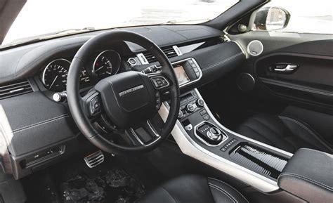 evoque land rover interior car and driver
