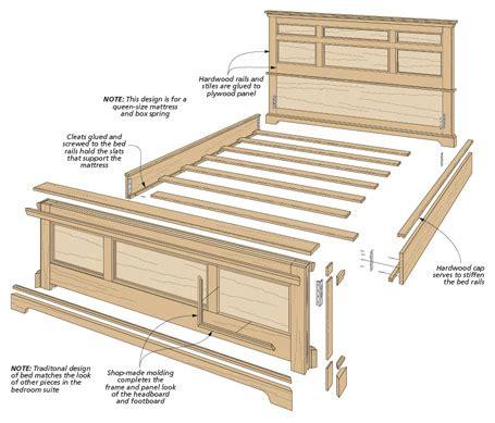 Bedroom Set Plans bedroom set oak bed
