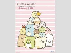 CDJapan Sumikko Gurashi [Calendar 2018 TryX Ltd