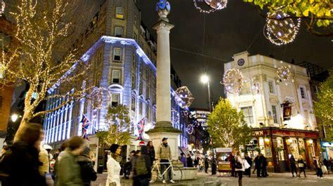 christmas shopping day   london shopping