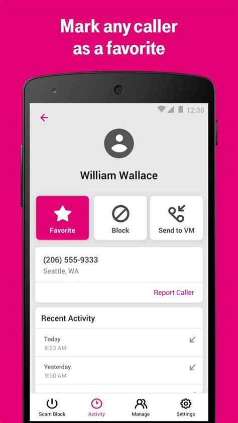 At&t has an app called call protect which has successfully blocked 90% of the spam calls that are but in my experience, no. T-Mobile Scam Shield for Android - APK Download