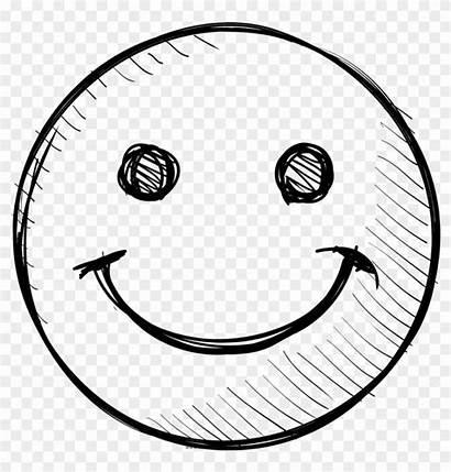 Face Happy Cara Sonriente Colorear Smiley Dibujo