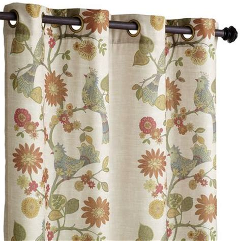 Pier 1 Imports Bird Curtains by Grommet Curtain Pier 1 Imports