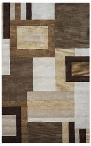 Abstract Pattern Area Rugs