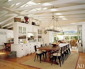 8 farmhouse themed dining room design ideas https With kitchen cabinet trends 2018 combined with flameless candle holder