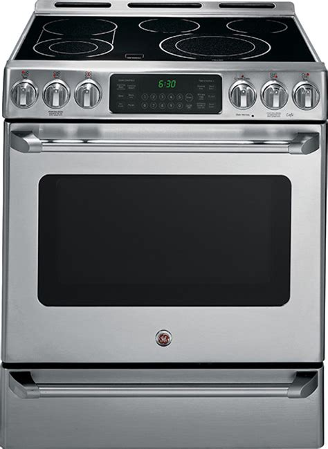 electric range freestanding range ge cafe
