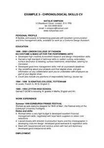 Skills Resume Section Exles by Cv Skills Section Exle