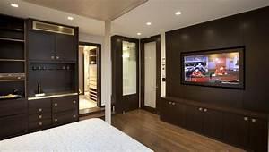 Modern bedroom storage unit design ipc221 wall storage for Bedroom unit designs