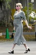 Pregnant EMMA ROBERTS Out for Coffee in Los Feliz 09/15 ...