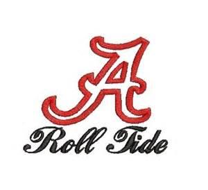Alabama Football Letter Font