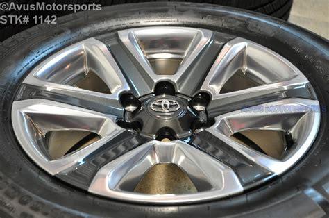 toyota tacoma limited oem factory wheels  land