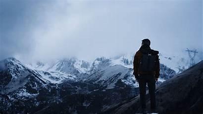 Alone Mountains Travel Nature 4k Uhd Ultra