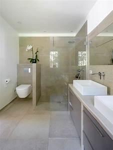 Salle de bain photos et idees deco de salles de bain for Salle de bain actuelle