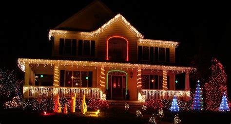 christmas lights houses near three outstanding exterior lighting ideas for christmas