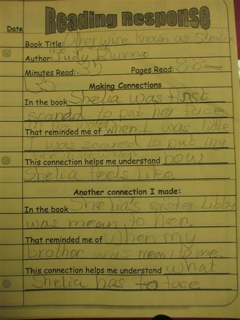 reading response forms  graphic organizers scholastic