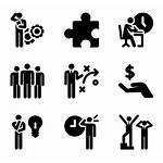 Human Productivity Icon Icons Pictograms Working Vector
