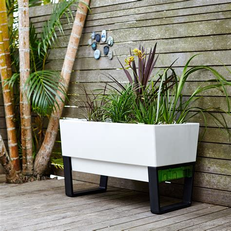 planters for small spaces modern balcony planters the space savvy solution for small gardens alittlebitofall