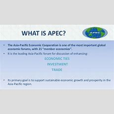 What Is Apec? • The