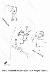 Yamaha Motorcycle 2006 Oem Parts Diagram For Handle Switch