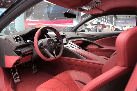 Just For Comparison Sake, Interior Of New Nsx, C7, R8
