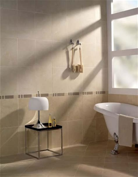 bathroom tiles marque marfil wall tile cream stone effect ceramic
