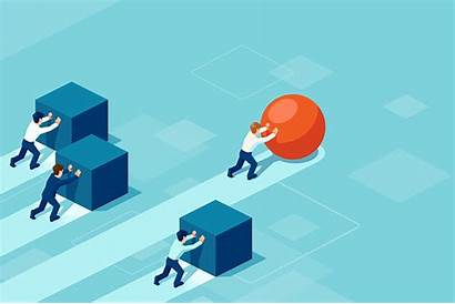 Value Competitive Improvement Edge Based Business Ahead