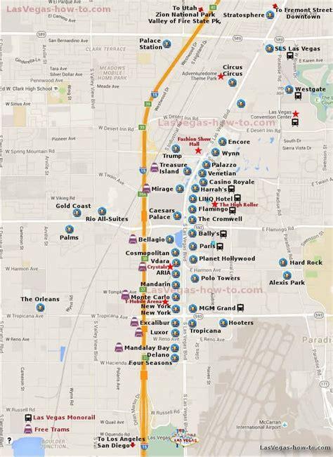 ideas  las vegas strip map  pinterest