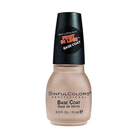 sinful colors professional sinful colors professional nail base coat big w
