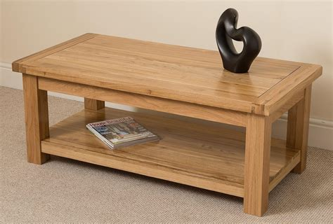Wohnzimmertisch Eiche Massiv by Cottage Solid Oak Coffee Table Modern Furniture Direct
