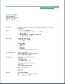 resume for college student with no work experience scholarship resume template getessay biz