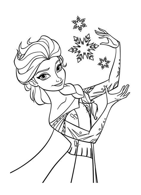 La Reine Des Neiges Disney 6  Coloriage La Reine Des